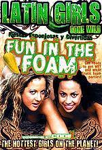 latin girls gone wild fun in the foam
