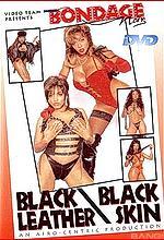 black leather black skin