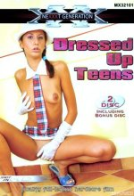 dressed up teens