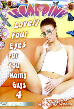lovely four eyes for you horny guys 4