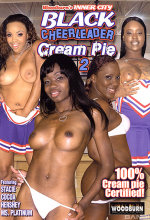black cheerleader cream pie 2