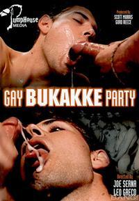 gay bukakke party