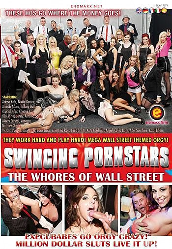 A full of whores orgy