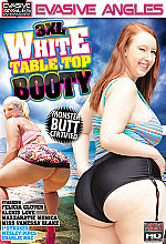 xxxl white table top booty