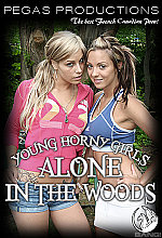 young horny girls alone in the woods